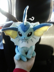 Vaporeon Plushie by SuperRosey16