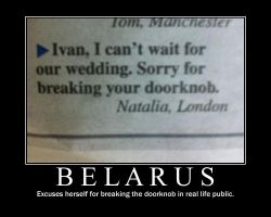 Belarus in the newspaper by PsychedelicShizaya