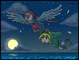 Zelda WW: I CAN SHOW YOU THE WORLD by Lukael-Art