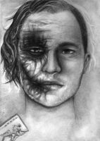 Two faced Joker by Sayoumi