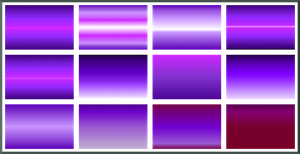 Gimp Purple Gradients by Geosammy