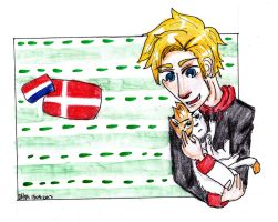 Denmark and Neth cat by AnnHolland