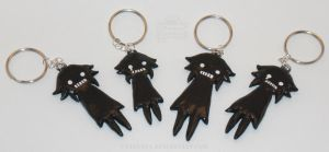 Shadow Crona Keychains by 13anana