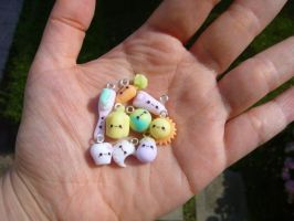 Random Kawaii Charms by Bojo-Bijoux
