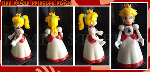 Princess Peach all FIRED UP! by dishbitch