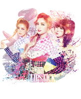 Orange Caramel ~ Lipstick ~ PhotoManipulation by ShimSungHyo