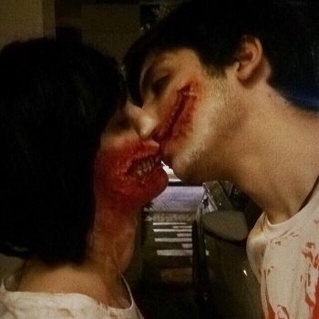 Me and My Boyfriend as Zombies :) by Hyuugalover88
