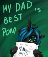 Me and my dad by Mr-Samson