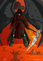 Azrael, The Angel Of Death 2 by MasterPitzy