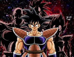 You ARE a saiyan, Son Goku by BK-81