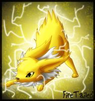 Jolteon the deadly electricity by FireTailed
