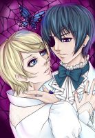 White Wedding - Alois x Ciel by AsheriaWorkshop