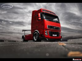 Volvo FH-16 'The CONE KILLER' by DURCI02