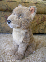 Fiesta Sitting Wolf Cub Plush by The-Toy-Chest