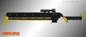 Enclave Sniper rifle for Corpwars by herrTevik
