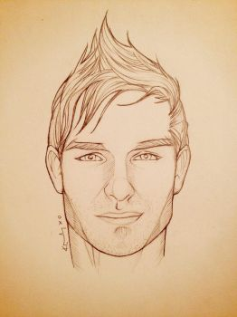 Portrait Sketch - Dean (my little brother) by KTGay