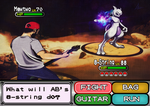 Andrew Baena Pokemon: Catch the Mewtwo with Djent by Il-Piccolo-Torero