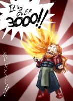 Its over 3000!! by vientocaprichoso