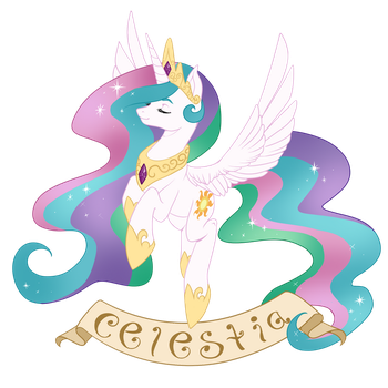 Celestia by Couratiel