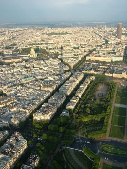 Paris From Tower by lessjake333