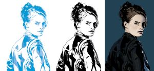 Stana Katic progression 2 by JonathanWyke