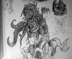 Monster Morphic - in works by TheMacRat