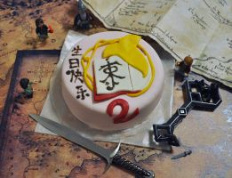 2nd Anniversary Cake for Red Book of Middle-earth by Norloth