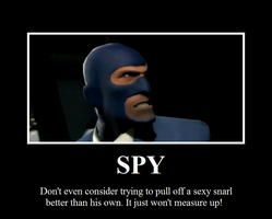 Spy motivational by Mastermindhunter