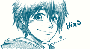 Hiro Hamada_Big Hero 6 by ChocoDips