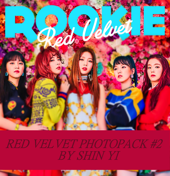 RED VELVET PHOTOPACK #2 27P by SHINYIDESIGN0408