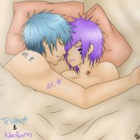 Trident and Nocturn by KayMarie94