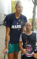 Tall Elizabeth Cambage compare by lowerrider