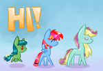 Chibi Ponies by Reporter-Derpy