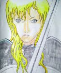Flora  - Claymore by Abuelo92