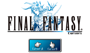 Final Fantasy I PSP - Cursors by UltimeciaFFB