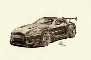 Nissan Skyline GT-R R35 by CptSky