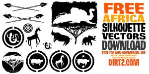 Africa Vector Pack by KeepWaiting
