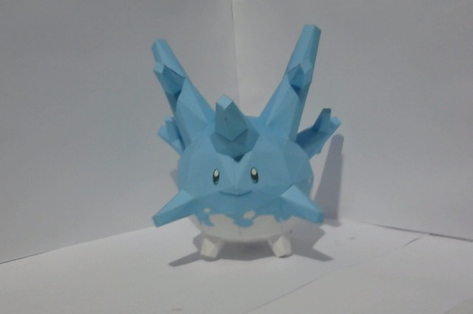 Shiny Corsola Papercraft by Ximira21