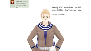 Ask-MMD-Netherlands: Question 89 by Ask-MMD-Netherlands