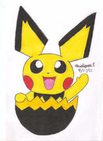 Pichu Egg Hatched by MarioSimpson1