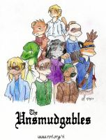 The Unsmudgables by simply-irenic