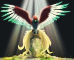 649monsters- Ho-Oh by biscuitcrumbs