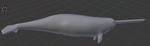 Narwhal Mesh Done by Unleashed89