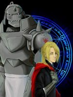 The Elric Brothers by endofnonentity