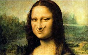 Mona Lisa's Smile by Grinjr2