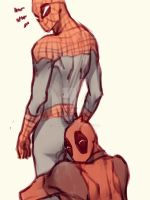 Spideypool40 by LKiKAi