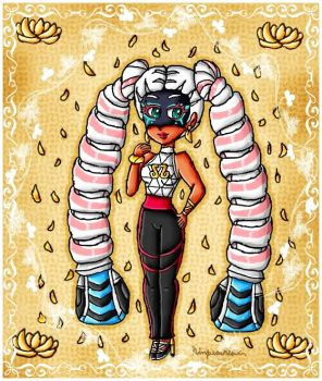 Twintelle by ninpeachlover