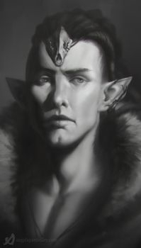 Solas as Fen'Harel: The Liberator by DireImpulse