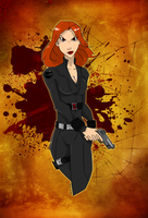 Black Widow by The-Poumi