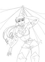 Sailor Star Fighter by SChappell